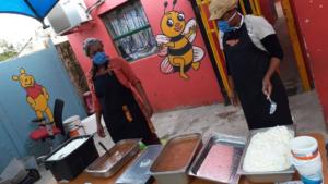 Oratile School feeding scheme